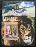Poštovní známka Guinea 2008 Lev Mi# Block 1535 Kat 10€