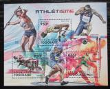 Poštovní známky Togo 2012 Lehká atletika Mi# 4373-75 Kat 11€