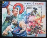 Poštovní známka Togo 2012 Lehká atletika Mi# Block 690 Kat 12€