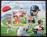 Poštovní známka Guinea-Bissau 2011 Baseball Mi# Block 953 Kat 11€