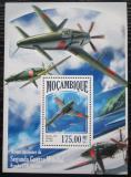 Poštovní známky Mosambik 2013 Japonská válečná letadla Mi# Block 840 Kat 10€