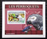 Poštovní známka Guinea 2007 Papoušci DELUXE neperf. Mi# 6430 B Block