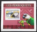 Poštovní známka Guinea 2007 Papoušci DELUXE neperf. Mi# 6431 B Block