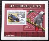 Poštovní známka Guinea 2007 Papoušci DELUXE neperf. Mi# 6432 B Block