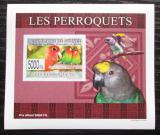 Poštovní známka Guinea 2007 Papoušci DELUXE neperf. Mi# 6434 B Block