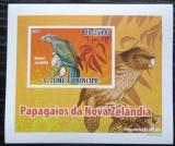 Poštovní známka Svatý Tomáš 2009 Nestor kea DELUXE neperf. Mi# 3886 B Block