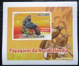 Poštovní známka Svatý Tomáš 2009 Laločník ostrozobý DELUXE Mi# 3887 B Block
