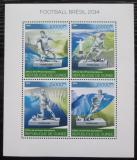 Poštovní známky Guinea 2014 MS ve fotbale Mi# 10242-45 Kat 20€