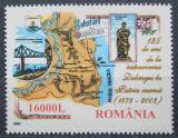 Poštovní známka Rumunsko 2003 Návrat Dobrudže Rumunsku Mi# 5771