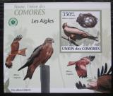 Poštovní známka Komory 2009 Orli DELUXE neperf. Mi# 2385 B Block