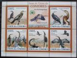Poštovní známky Komory 2009 Anhingy Mi# 2372-76 Kat 9€