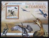Poštovní známka Komory 2009 Anhingy Mi# 2421 Kat 15€
