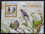 Poštovní známka Komory 2009 Papoušci Mi# 2424 Kat 15€