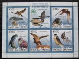 Poštovní známky Komory 2009 Sokoli Mi# 2407-11 Kat 10€