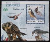 Poštovní známka Komory 2009 Sokoli DELUXE Mi# 2411 Block