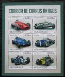 Poštovní známky Mosambik 2013 Historická závodní auta Mi# 6539-44 Kat 10€