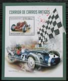 Poštovní známka Mosambik 2013 Historická závodní auta Mi# Block 753 Kat 10€
