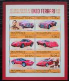 Poštovní známky Mosambik 2013 Auta Ferrari Mi# 6560-65 Kat 10€