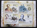 Poštovní známky Guinea-Bissau 2011 Automobily Benz Mi# 5523-26 Kat 13€