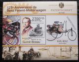Poštovní známka Guinea-Bissau 2011 Automobily Benz Mi# Block 955 Kat 11€