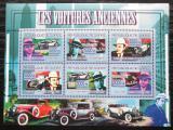 Poštovní známky Guinea 2007 Historické automobily Mi# 5199-5204 Kat 8.50€