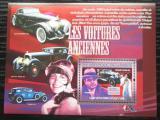 Poštovní známka Guinea 2007 Historické automobily Mi# Block 1448 Kat 7€