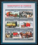 Poštovní známky Mosambik 2013 Přeprava pošty Mi# 6532-37 Kat 10€