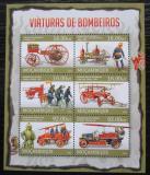 Poštovní známky Mosambik 2013 Hasiči Mi# 6623-28 Kat 14€