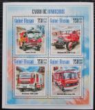 Poštovní známky Guinea-Bissau 2013 Hasičská auta Mi# 6868-71 Kat 12€