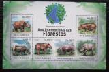 Poštovní známky Mosambik 2011 Nosorožec sumaterský Mi# 4385-90 Kat 11€