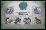 Poštovní známky Mosambik 2011 Harpyje pralesní Mi# 4336-41 Kat 11€