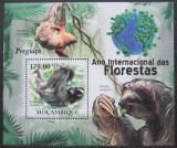 Poštovní známka Mosambik 2011 Netopýři Mi# Block 424 Kat 10€