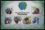 Poštovní známky Mosambik 2011 Chápan Mi# 4445-50 Kat 14€