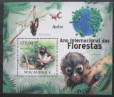 Poštovní známka Mosambik 2011 Chápan Mi# Block 431 Kat 10€