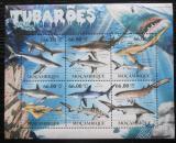 Poštovní známky Mosambik 2011 Žraloci Mi# 5337-43 Kat 23€