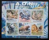 Poštovní známky Mosambik 2011 Savci Mi# 5330-35 Kat 23€