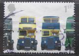 Poštovní známka Velká Británie 2001 Autobusy Mi# 1934