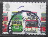 Poštovní známka Velká Británie 2001 Autobusy Mi# 1936