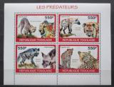 Poštovní známky Togo 2010 Šelmy Mi# 3463-66 Kat 8.50€