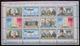 Poštovní známky Vanuatu 1990 Charles de Gaulle Mi# 845-50 Bogen Kat 18€