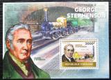 Poštovní známka Togo 2010 Parní lokomotivy Mi# Block 511 Kat 12€