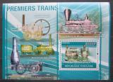 Poštovní známka Togo 2010 Parní lokomotivy Mi# Block 562 Kat 12€