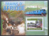 Poštovní známka Togo 2010 Africké lokomotivy Mi# Block 563 Kat 12€