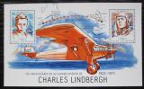 Poštovní známka Guinea-Bissau 2014 Charles Lindbergh Mi# Block 1238 Kat 8.50€