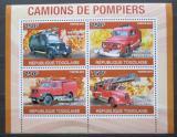 Poštovní známky Togo 2010 Hasičská auta Mi# 3709-12 Kat 12€