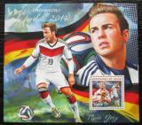 Poštovní známka Niger 2014 MS ve fotbale Mi# Block 346 Kat 12€