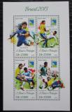 Poštovní známky Svatý Tomáš 2013 MS ve fotbale Mi# 5356-59 Kat 10€