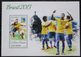 Poštovní známka Svatý Tomáš 2013 MS ve fotbale Mi# Block 931 Kat 10€