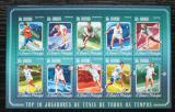 Poštovní známky Svatý Tomáš 2014 Tenisti Mi# 5970-79 Kat 10€