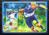 Poštovní známka Svatý Tomáš 2014 Tenisti Mi# Block 1050 Kat 10€